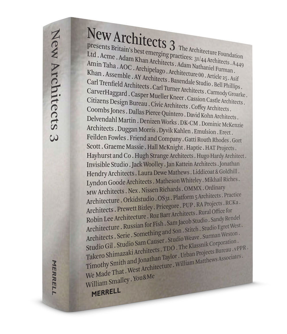 Cover for New Architects 3